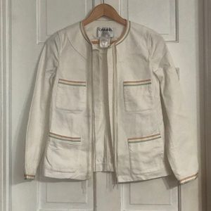 Vintage Chanel Jacket and Jean Pant Suit